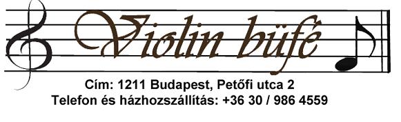 Violin büfé